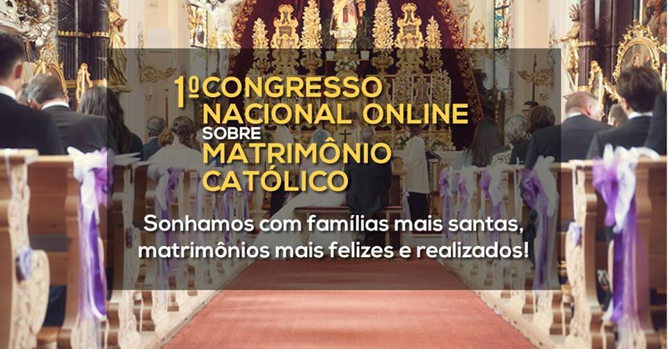 Matrimonio Catolico Homilia : Congresso online foca a formação matrimonial para